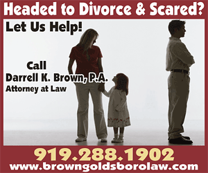 Brown Law -- www.browngoldsborolaw.com