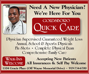 Goldsboro Quick Care - 919-734-6700