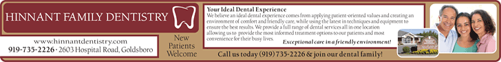 Hinnant Family Dentistry - www.hinnantdentistry.com