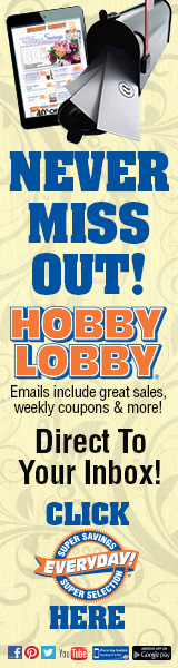 Hobby Lobby - www.hobbylobby.com