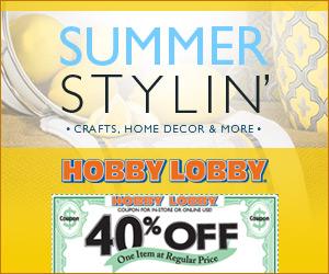 Hobby Lobby - www.hobbylobby.com