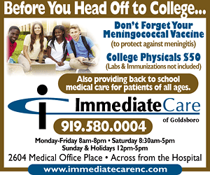 Immediate Care of Goldsboro