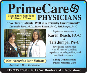 PrimeCare Physicians - 919-735-7580