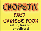 Chopstix -- Click for Menu