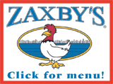 Zaxby's -- Click for Menu